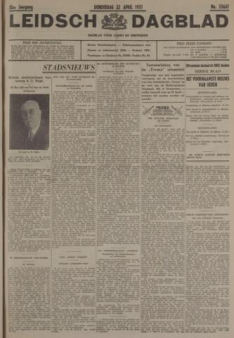 Leidsch Dagblad 1937-04-22