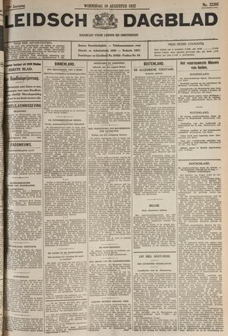 Leidsch Dagblad 1932-08-10
