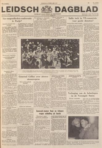 Leidsch Dagblad 1951-02-06