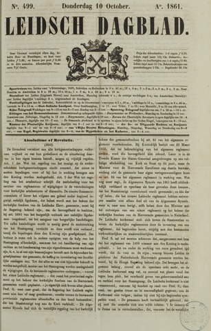 Leidsch Dagblad 1861-10-10