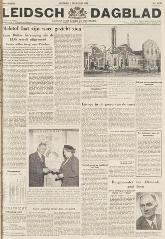 Leidsch Dagblad 1954-02-02