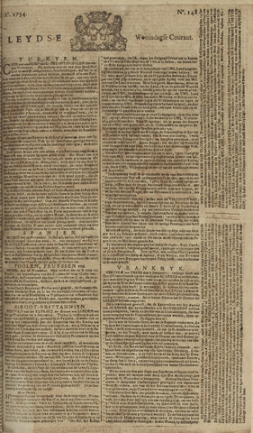 Leydse Courant 1754-12-11