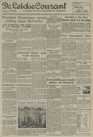 Leidse Courant 1954-03-04