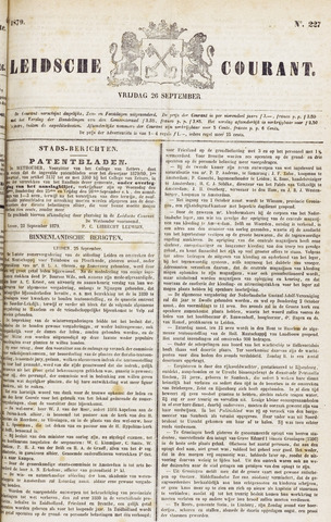 Leydse Courant 1879-09-26