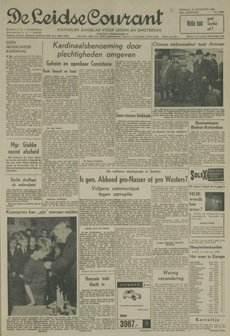 Leidse Courant 1958-11-18