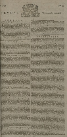 Leydse Courant 1739-02-18