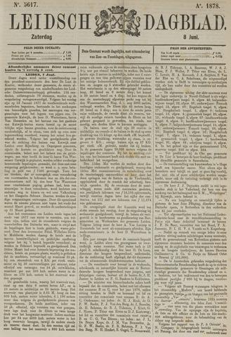 Leidsch Dagblad 1878-06-08