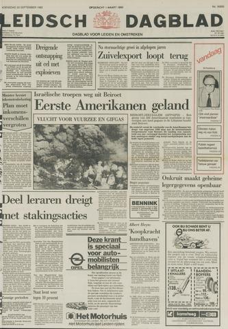 Leidsch Dagblad 1982-09-29
