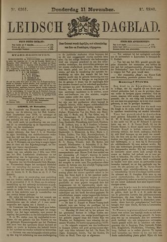 Leidsch Dagblad 1880-11-11