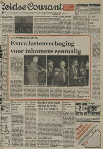 Leidse Courant 1981-11-05