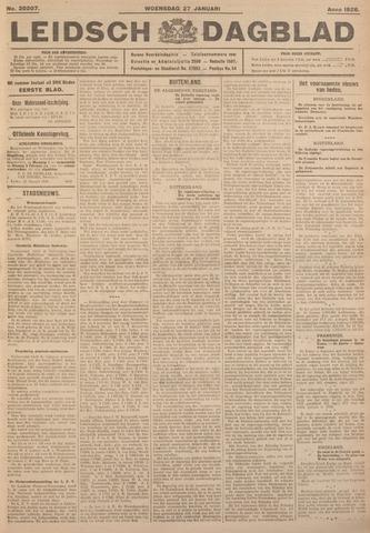 Leidsch Dagblad 1926-01-27