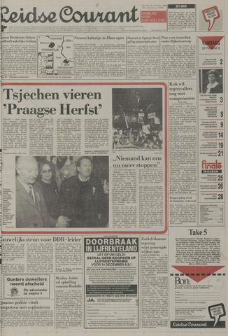 Leidse Courant 1989-11-25