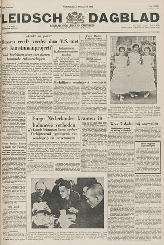 Leidsch Dagblad 1955-08-03
