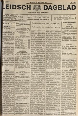Leidsch Dagblad 1932-12-16