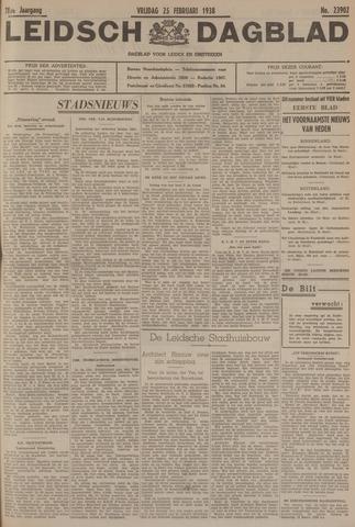 Leidsch Dagblad 1938-02-25