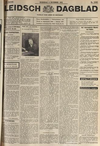 Leidsch Dagblad 1932-11-09