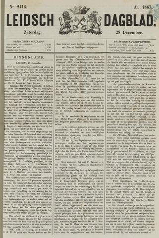 Leidsch Dagblad 1867-12-28