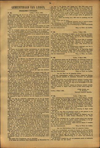 Handelingen van de Raad 1894-03-08