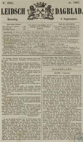 Leidsch Dagblad 1867-09-09