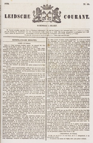 Leydse Courant 1876-03-01