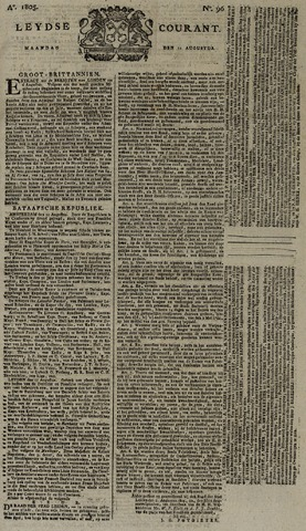 Leydse Courant 1805-08-12