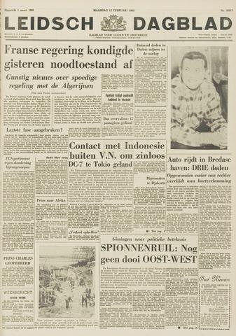 Leidsch Dagblad 1962-02-12