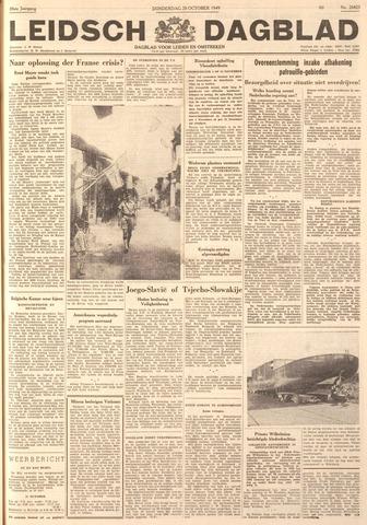 Leidsch Dagblad 1949-10-20