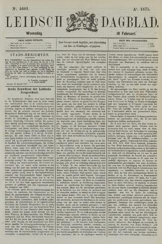 Leidsch Dagblad 1875-02-10