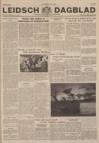 Leidsch Dagblad 1951-07-07