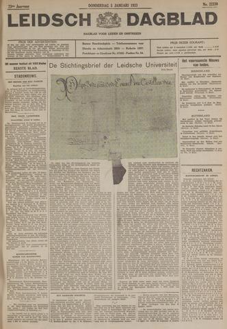 Leidsch Dagblad 1933-01-05