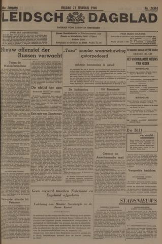 Leidsch Dagblad 1940-02-23