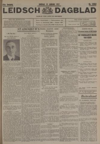 Leidsch Dagblad 1937-01-19