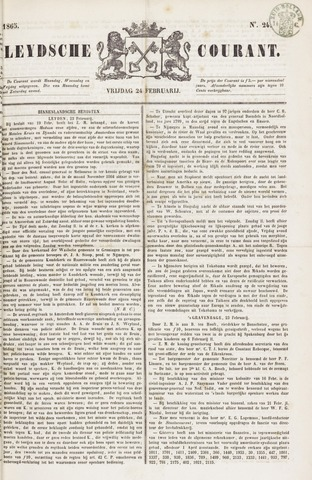 Leydse Courant 1865-02-24