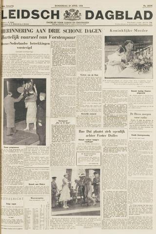 Leidsch Dagblad 1954-04-29
