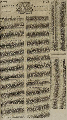 Leydse Courant 1805-11-13