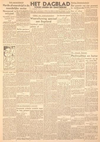 Dagblad voor Leiden en Omstreken 1944-01-21