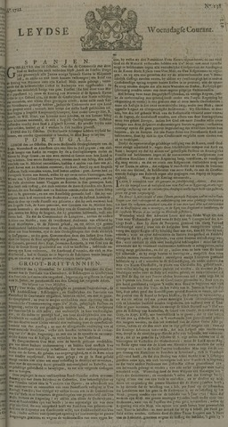 Leydse Courant 1722-11-18