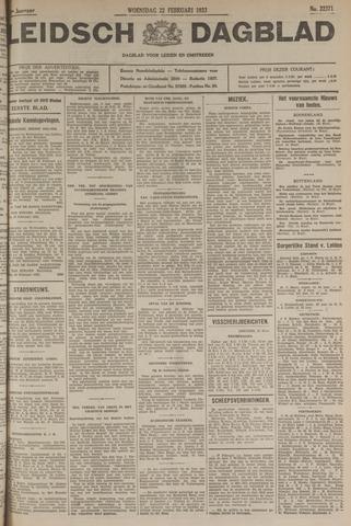 Leidsch Dagblad 1933-02-22