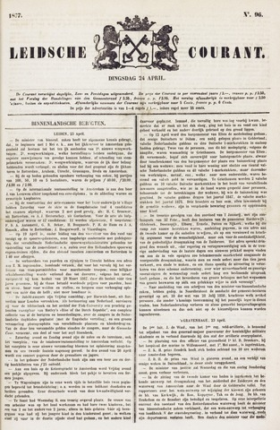 Leydse Courant 1877-04-24