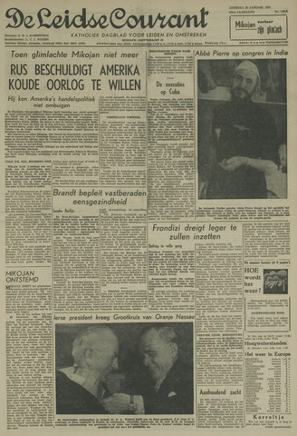 Leidse Courant 1959-01-20