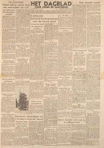 Dagblad voor Leiden en Omstreken 1944-09-09