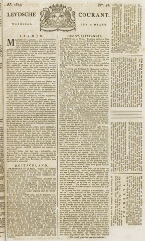 Leydse Courant 1825-03-30