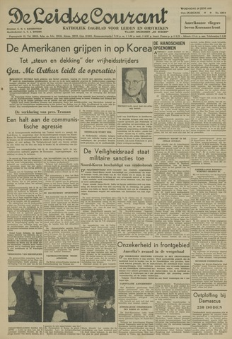 Leidse Courant 1950-06-28