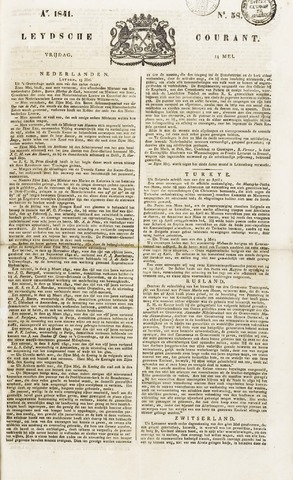 Leydse Courant 1841-05-14