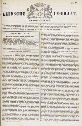 Leydse Courant 1879-08-27