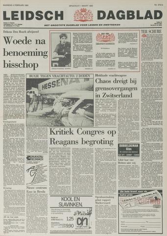 Leidsch Dagblad 1985-02-04