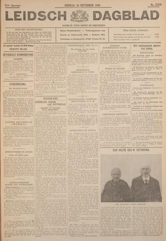 Leidsch Dagblad 1930-09-30