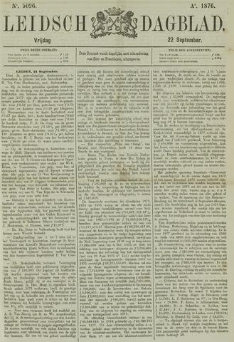 Leidsch Dagblad 1876-09-22
