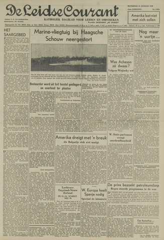 Leidse Courant 1950-01-21