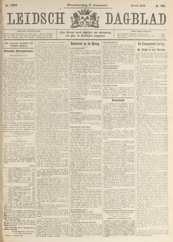 Leidsch Dagblad 1915-01-07